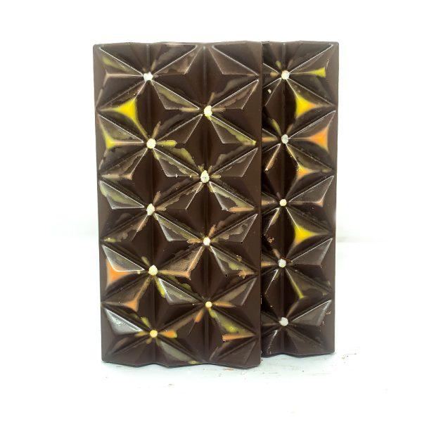 Barras de chocolate sugar free con albaricoque