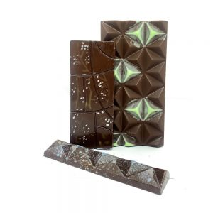 Barra de chocolate con comino