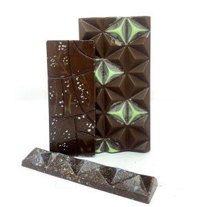 Barra de chocolate con cardamomo