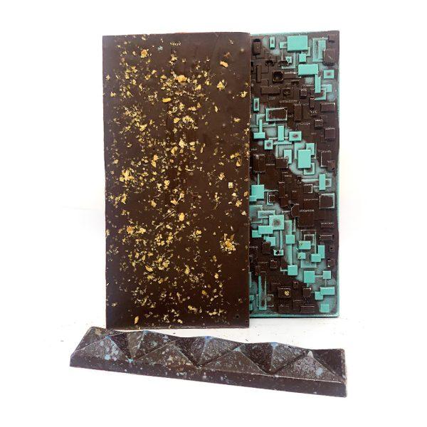 Barra de chocolate con jengibre